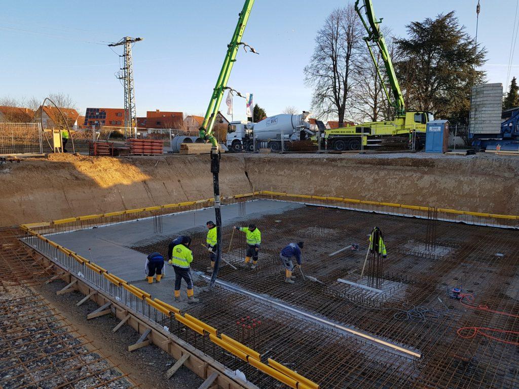 Berühmt Baustelle in Aktion – Weingut Braunewell DL39